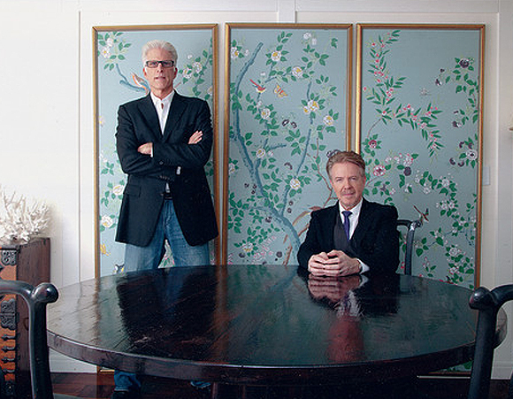 Ted Danson & Keith Addis - WSJ Magazine